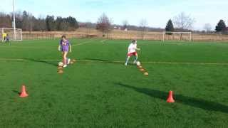 FTC Soccer 9 Year Old Foot Skills Drill