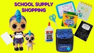 Punk Boi Goes School Supply Shopping Dinosaur Scare
