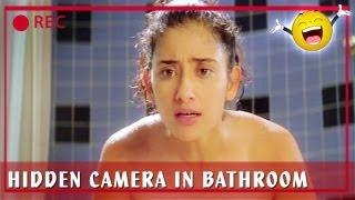 Manisha Koirala & Sunny Deol - Hidden Camera In Bathroom - Champion