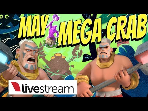 May Tribal Mega Crab (Stages 1 - 38) - Boom Beach