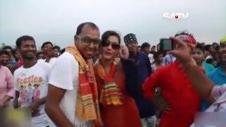 Film Director & Screen Play Writer SAIKAT NASIR in Ranger Mela (SATV)