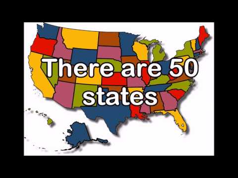 50 states song 2 (There are 50 states)