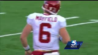 Were Mayfield's antics after Kansas captains refused to shake his hand too much?
