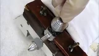 Boddo Mills 0.75 cc Model Diesel Engine Homemade Contra-piston