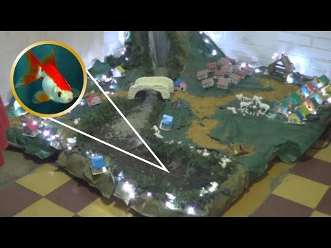CRIB WITH FISH RIVER AND WATERFALL LIVE PART 2