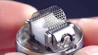 GAME CHANGER RDA! Smoothest Vape EVER! The Profile By Wotofo And #mrjustright1
