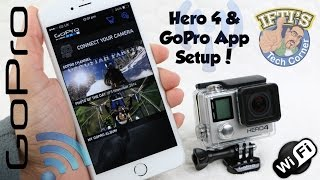 GoPro Hero 4 Black/Silver : Connecting to the GoPro App - Setup & Review!