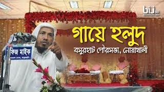 গায়ে হলুদ || Rofiqullah Afsary || বসুরহাট পৌরসভা , নোয়াখালী || Bangla Waz