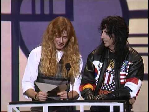 Aerosmith Win Heavy Metal/Hard Rock Artist - AMA 1991