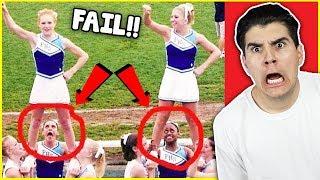 The Funniest Cheerleading Fails Of 2017!