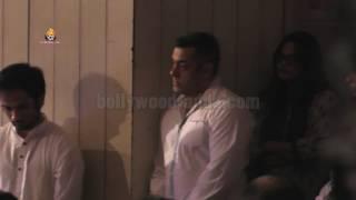 INSIDE VIDEO: Salman Khan Prayer Meet - Sooraj Barjatya Cousin Rajjat Barjatya !!!