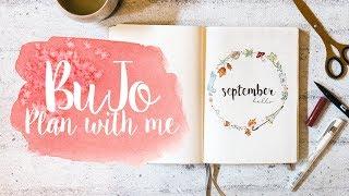Bullet Journal Set-Up | PLAN WITH ME | September von jasminar