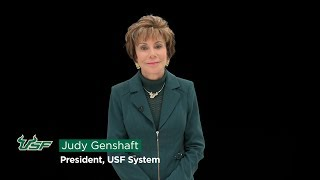 USF System President Genshaft Message on the Higher Education Act