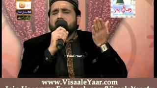 Qari Shahid Mehmood At Qtv Program Naat Zindagi Hai 07-03-2014 With Sarwar Naqshbandi.By Visaal