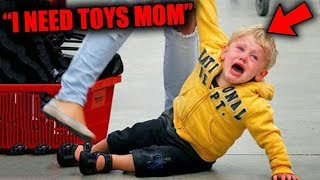 Top 10 MOST SPOILED Kid Tantrums Caught On Camera!