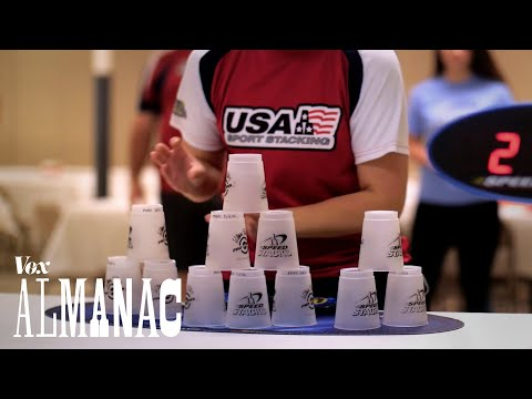 The incredible sport of cup stacking explained