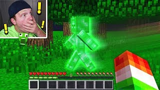 FINDING GREEN STEVE IN MINECRAFT! *NOT CLICKBAIT*