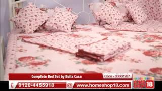 Homeshop18.com - Complete Bed Set by Bella Casa