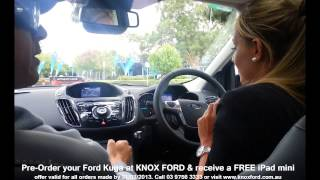 All New Ford Kuga - 2013 - Active City Stop Demonstration - Knox Ford - Funny