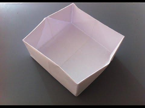 Kağıttan Kutu Yapımı - Origami Kutu