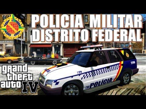 GTA 4 POLICIA🔰| PMDF: Blazer com policial preso na mala 🤦