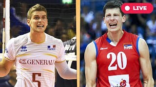 France v Serbia - Final Round | 2017 FIVB Volleyball World League