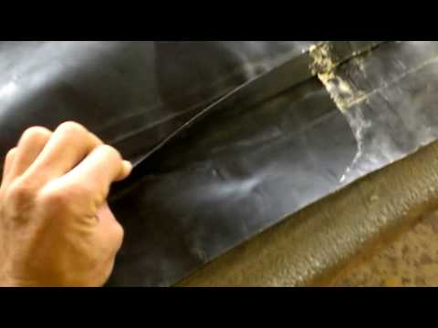 как правильно заклеить швы на резиновой лодке