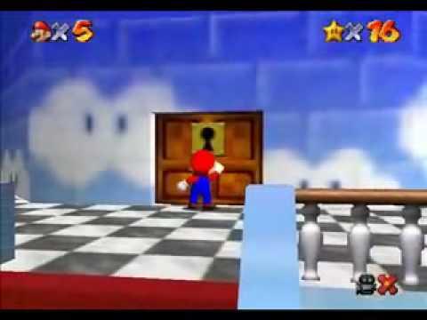 TAS Super Mario 64 N64 in 15 35 by Rikku