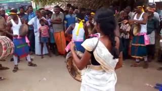 Tamil nadu destroying culture part 1(melmalayanur Kovil theruvizha)