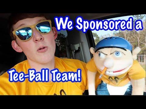 Jeffy Sponsored a Tee Ball Team