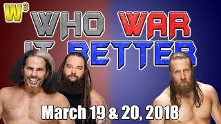 Ultimate Deletion! Daniel Bryan is Back! | Who War It Better