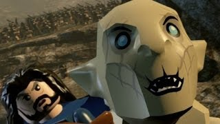 LEGO The Hobbit (PS4) 100% Guide - Chapter 3 - Azog the Defiler (All Minikits)