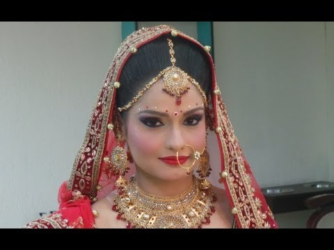 Indian Bridal Makeup - Modern Look