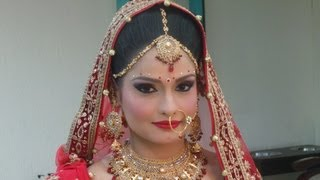 Indian Bridal Makeup - Modern Look