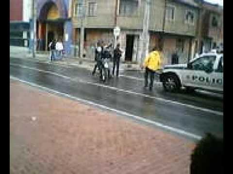 sicarios en moto en bogota