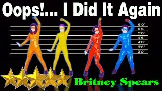 Oops !    I Did It Again - Britney Spears - The Girly Team   Just Dance 4   Best Dance Music