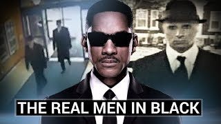 The REAL Men in Black (Creepy Conspiracy Theories)