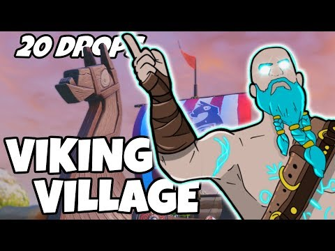 Xxx Mp4 I Dropped Viking Village 20 Times And This Is What Happened Fortnite 3gp Sex