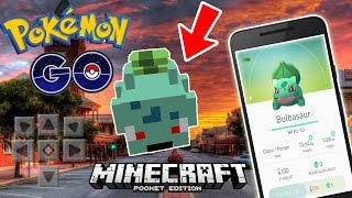 POKEMON GO in Minecraft Pocket Edition!!! - MCPE Mods