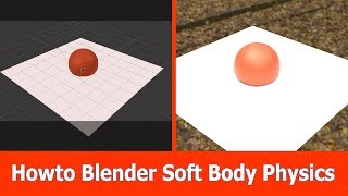 Blender Soft Body Physics How to