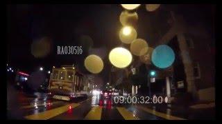 4k Car POV NX night driving in the RAIN San Francisco