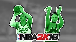 Best 3 Point Shooter On Every Team According To NBA 2K18