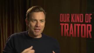 Ewan Mcgregor Interview VERRÄTER WIE WIR - OUR KIND OF TRAITOR + STAR WARS + Trainspotting 2
