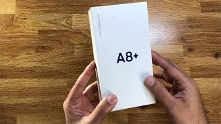 Unboxing and first look of Samsung Galaxy A8+ 2018 | ETPanache