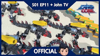 [Official] DinoCore & John TV | Once a friend, always a friend! | 3D Animation | Season 1 Episode 11