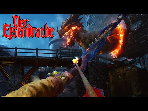 BLACK OPS 3 ZOMBIES DER EISENDRACHE EASTER EGG GAMEPLAY HUNT BO3 DLC Zombies