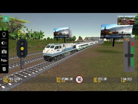Indonesia Train Driving Game - Engine U20C | Indonesian Train Simulator - Android & IOS GamePlay HD