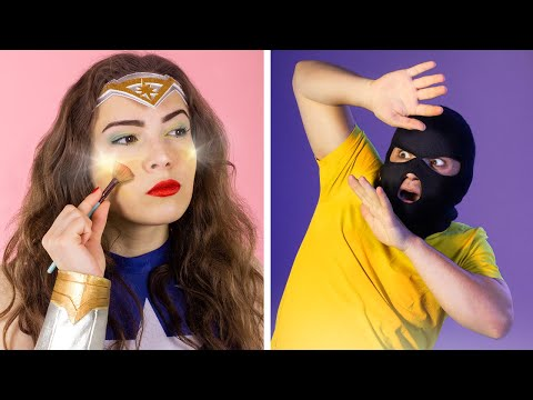 8 DIY Weird Makeup Ideas Superhero Makeup
