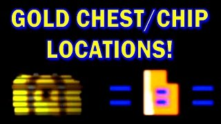 GOLD CHEST/CHIP LOCATION GUIDE | FNAF World