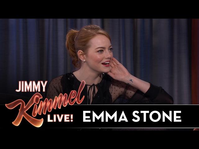Emma Stone on Awkward Golden Globes Moment